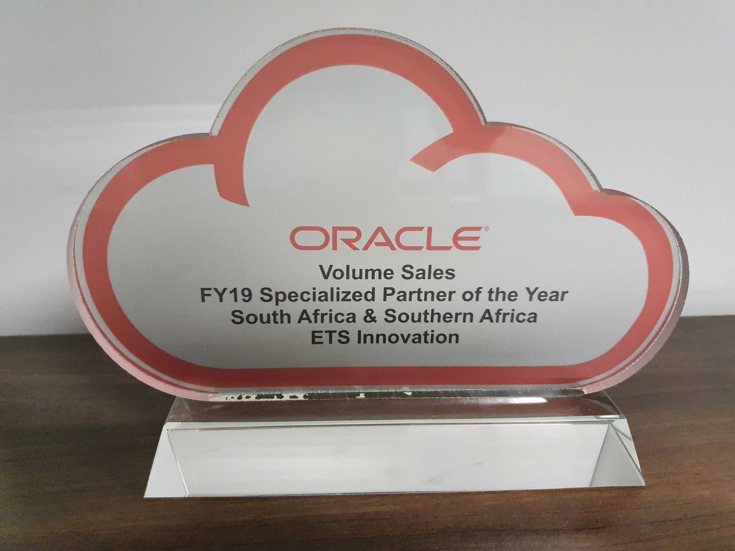 F19 Specialised Partner Award ETS